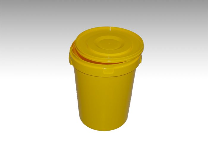 Plastfata gul