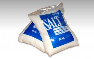 Salt 25 kg í poka