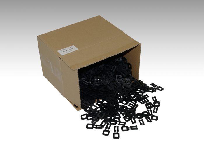 Plastspennur svartar